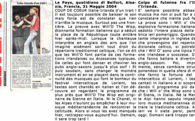 Fimu Belfort France 2004